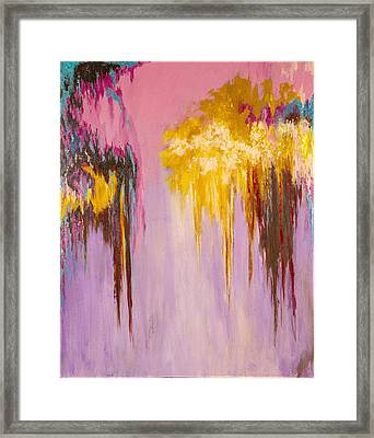 Melted Framed Print by Suzzanna Frank
