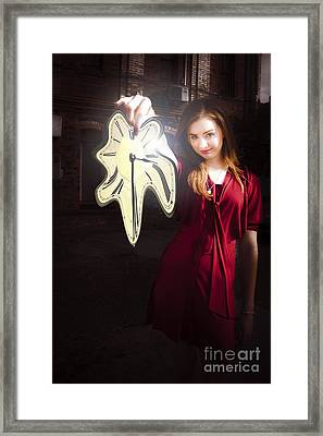 Melting Clock Of Time Framed Print by Jorgo Photography - Wall Art Gallery