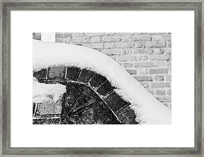 Melting Framed Print by Lara Morrison