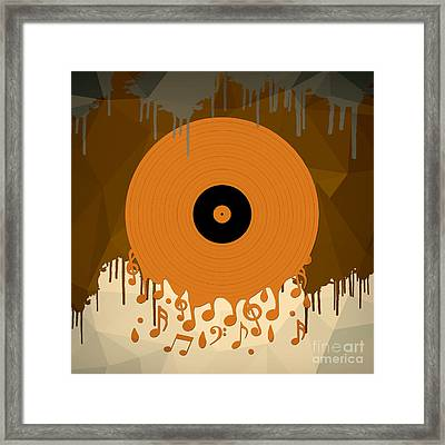 Melting Music Framed Print by Bedros Awak