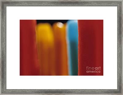 Melting Popsicles Framed Print by Jim Corwin