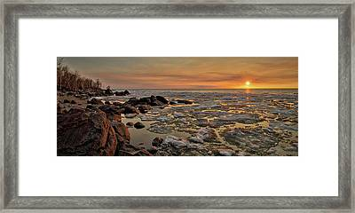 Melting Waters Framed Print by Stuart Deacon