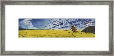 Melvillodramatus Framed Print by Martin Tielli
