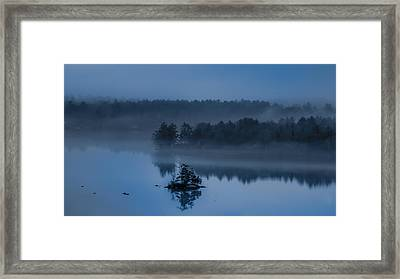 Melvin Bay Blues Framed Print