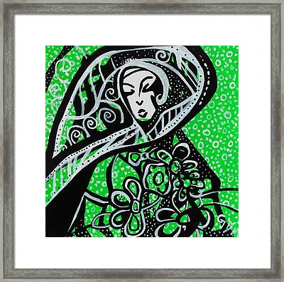 Member Of The Party Framed Print by Geoffrey Doig-Marx
