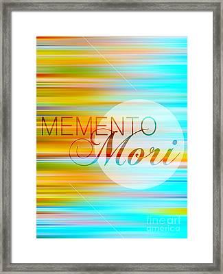 Memento Mori Framed Print by Horacio Martinez