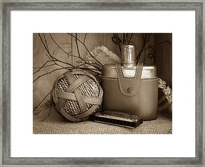 Memories Of The Past Framed Print