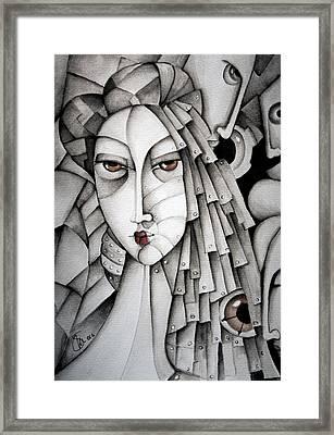 Memoirs Of A Geisha Framed Print by Simona  Mereu
