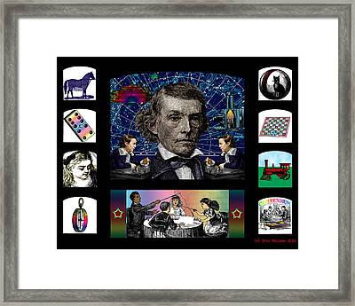 Memoirs Of Youth Framed Print by Eric Edelman