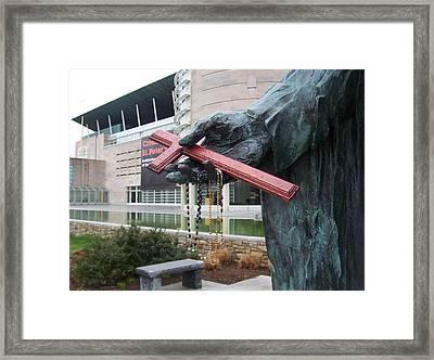 Memorial Framed Print by Adam Schwartz