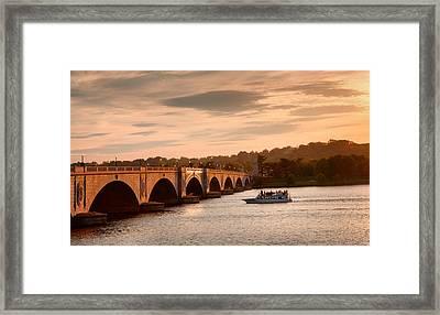 Memorial Bridge II Framed Print by Steven Ainsworth