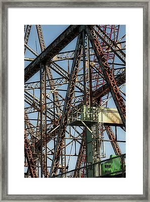 Memorial Bridge Framed Print