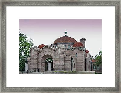 Memorial Chapel In Minneapolis, Minnesota.  Framed Print by Art Spectrum