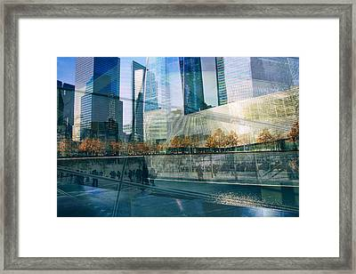 Framed Print featuring the photograph Memorial Collage by Jessica Jenney