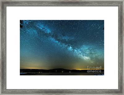Memorial Day Milky Way Framed Print