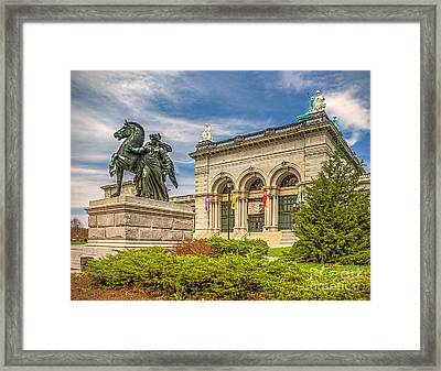 Framed Print featuring the photograph Memorial Hall - Fairmount Park by Nick Zelinsky