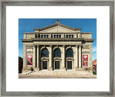 Memorial Hall Framed Print