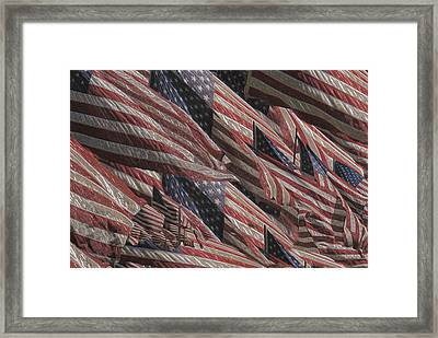 Memorial Framed Print by Jack Zulli