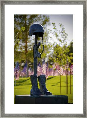 Memorial Framed Print by Mike Hill