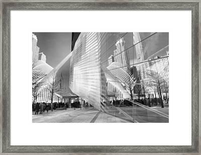 Memorial Museum Reflections Framed Print