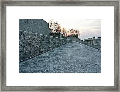 Memorial Steps Framed Print