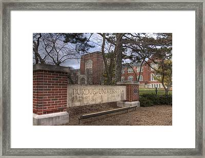 Memorial Union Framed Print by Coby Cooper