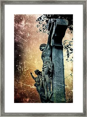 Memorializing Framed Print by Scott Wyatt