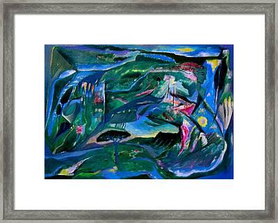 Memorie Framed Print by Adolfo De Turris
