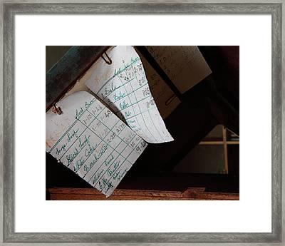 Memories 15 Framed Print by Tom  Doherty