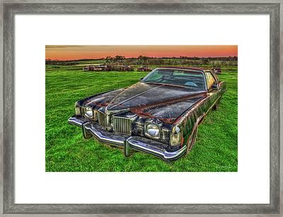 Memories 1971 Pontiac Grand Prix Art Framed Print