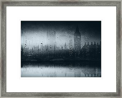 Framed Print featuring the digital art Mystical London by Fine Art By Andrew David