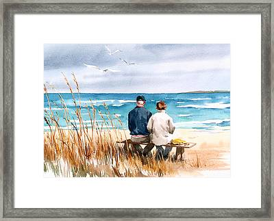 Memories Framed Print by Art Scholz