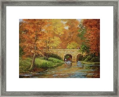 Memories At Stone Bridge Framed Print