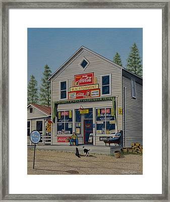 Memories From The Past Framed Print by Don Engler
