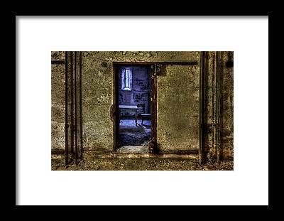 Derelict Framed Prints