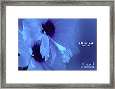 Memories Never Fade Framed Print by Krissy Katsimbras