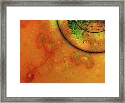 Memories Of Another Time Iv Framed Print