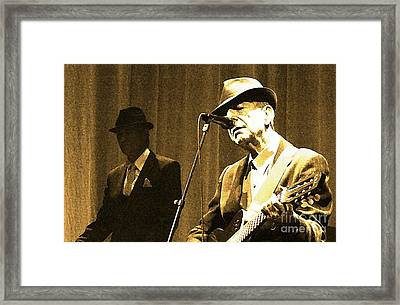 Memories Of Cohen Framed Print by John Malone