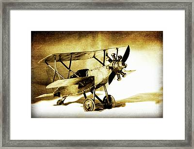 Memories Of Flying Framed Print by Lincoln Rogers