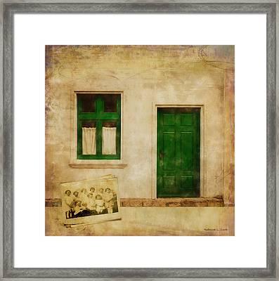 Memories Of Irish Green Framed Print by Bellesouth Studio