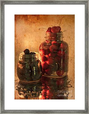 Memories Of Jams, Preserves And Jellies  Framed Print