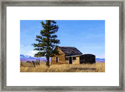 Memories Of Montana Framed Print