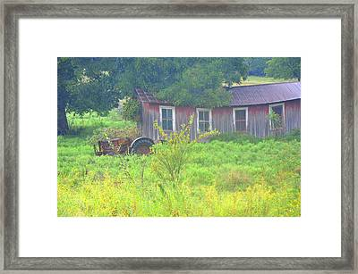 Memories Of Oklahoma Framed Print