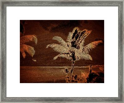 Memories Of St. Croix Framed Print by Martin Morehead