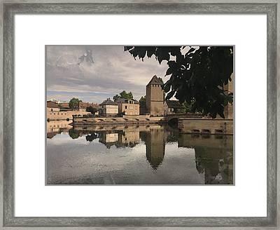 Memories Of Strasbourg Framed Print