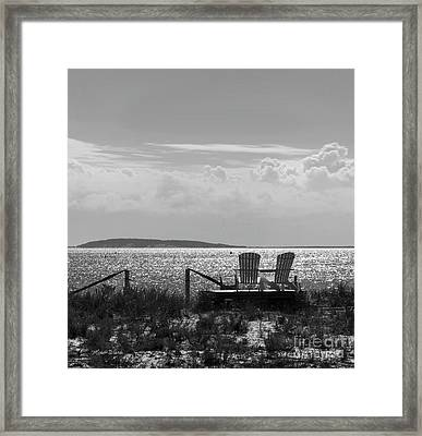 Framed Print featuring the photograph Memories Of The Cape by Michelle Wiarda
