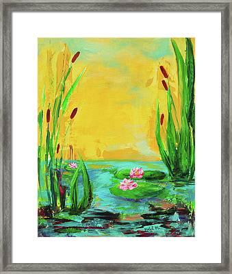 Memories Of The Lake Framed Print