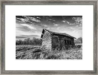Memories Of The Past 2 Framed Print by Bob Christopher