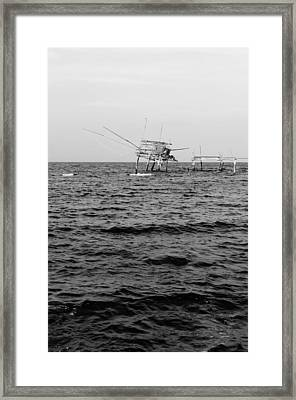 Memories Of The Sea Framed Print