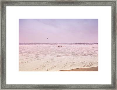 Framed Print featuring the photograph Memories Of The Sea by Heidi Hermes